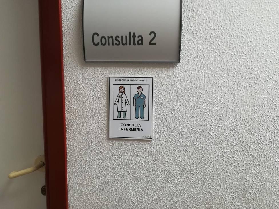 Imagen puerta consulta de Centro de Salud