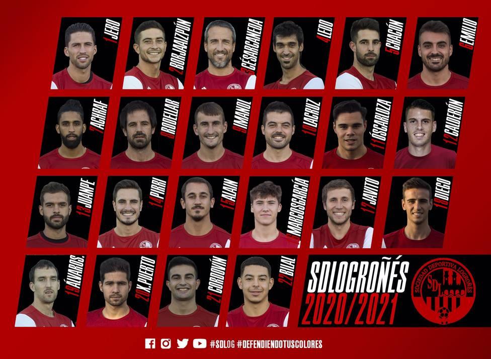 Jero Lario y Alein ya tienen sus dorsales en la SD Logroñés