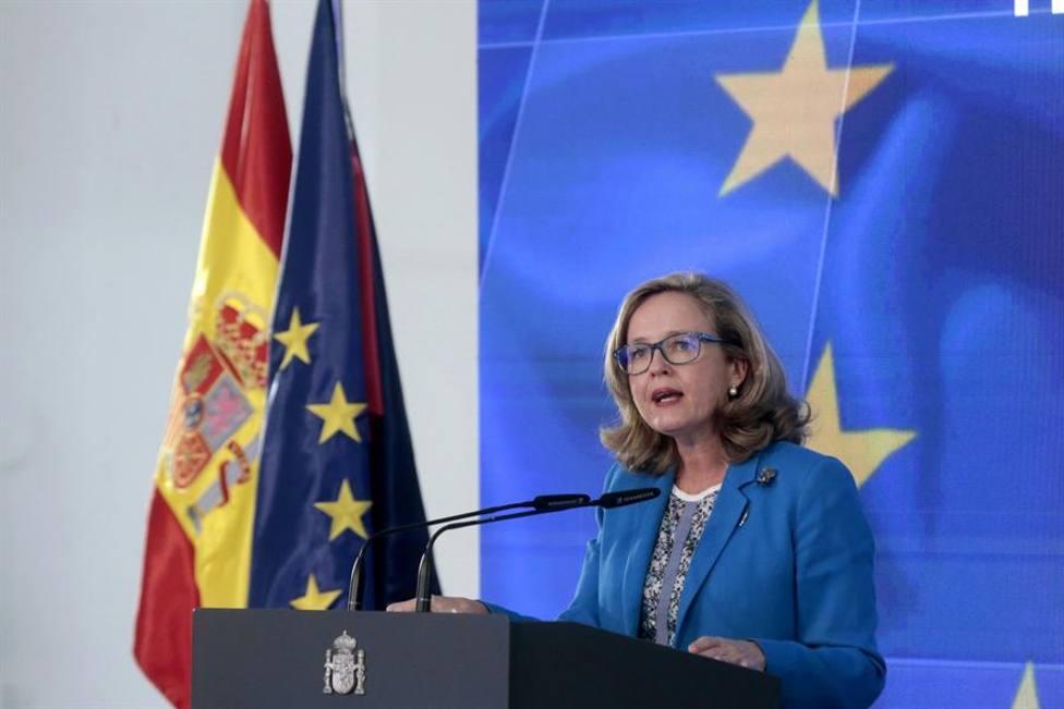 La vicepresidenta para Asuntos Económicos, Nadia Calviño