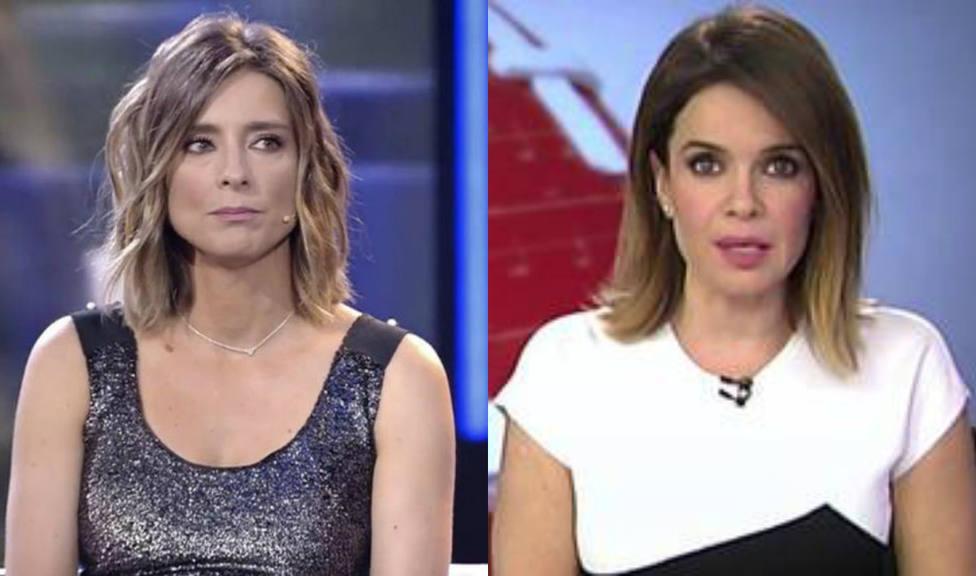 Carme Chaparro y Sandra Barneda