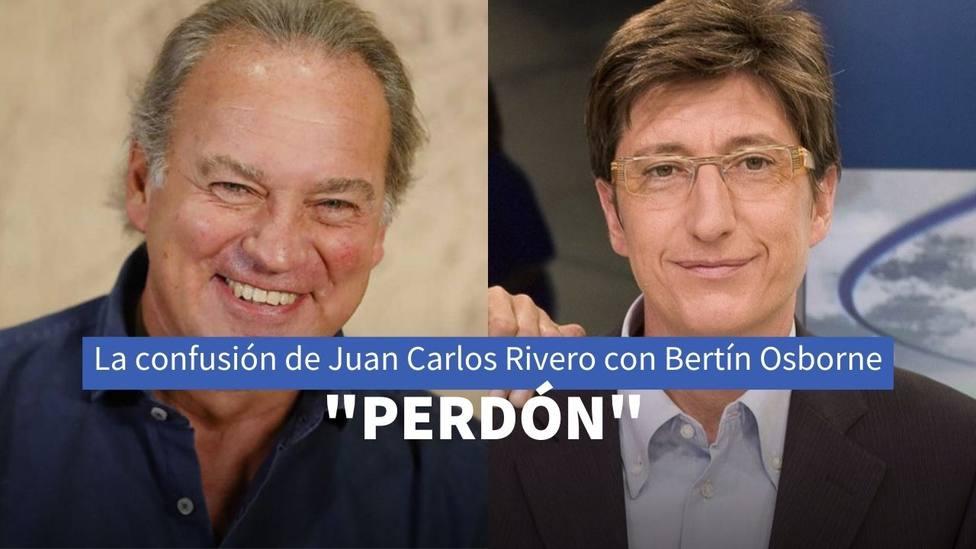 Bertín Osborne y Juan Carlos Rivero