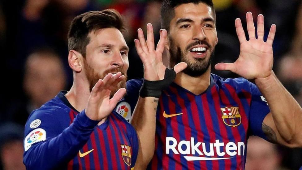 El Atleti-Barça sin el reencuentro entre Suárez y Messi