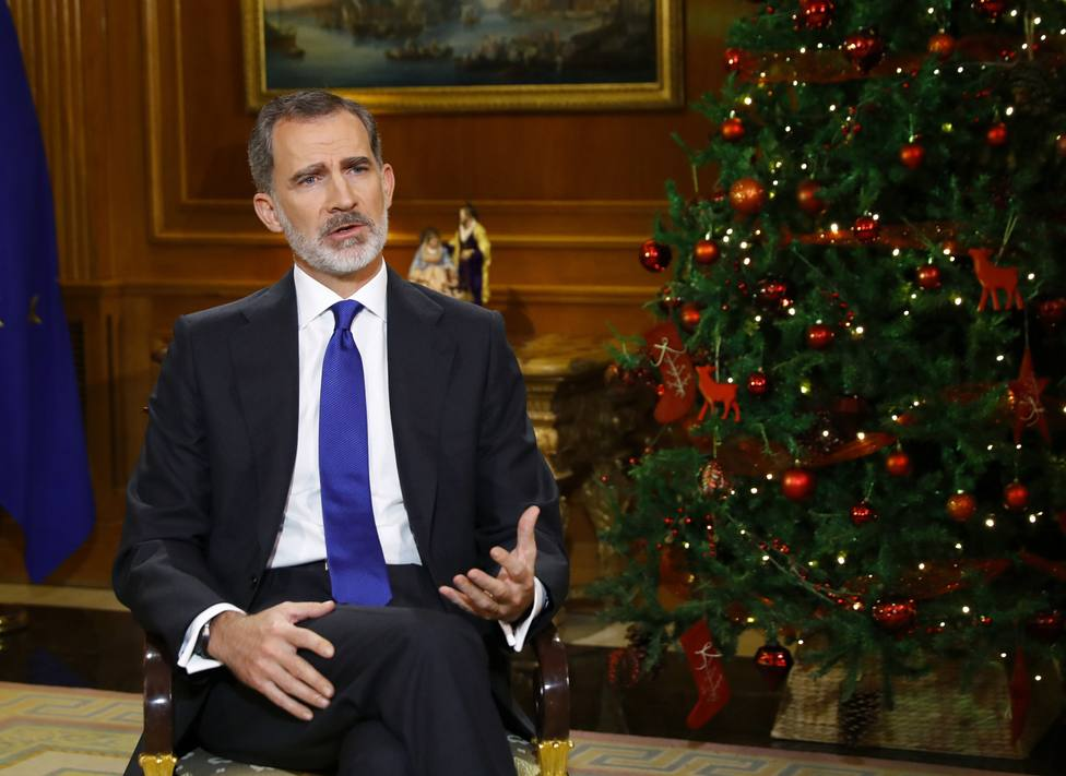 Discurso íntegro de Don Felipe VI en la Nochebuena de 2020