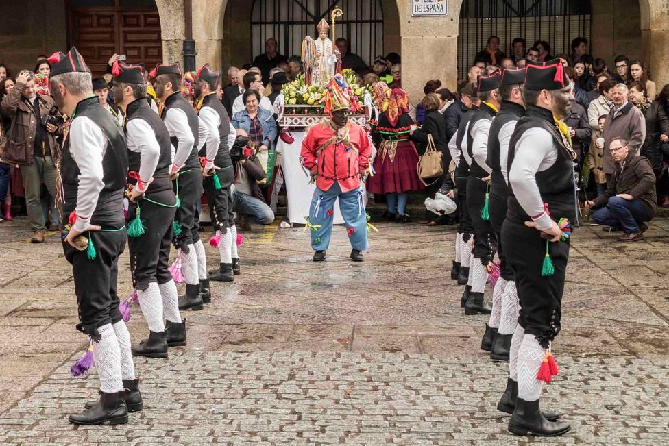 Montehermoso se queda sin los bailes de los Negritos de San Blas por la pandemia
