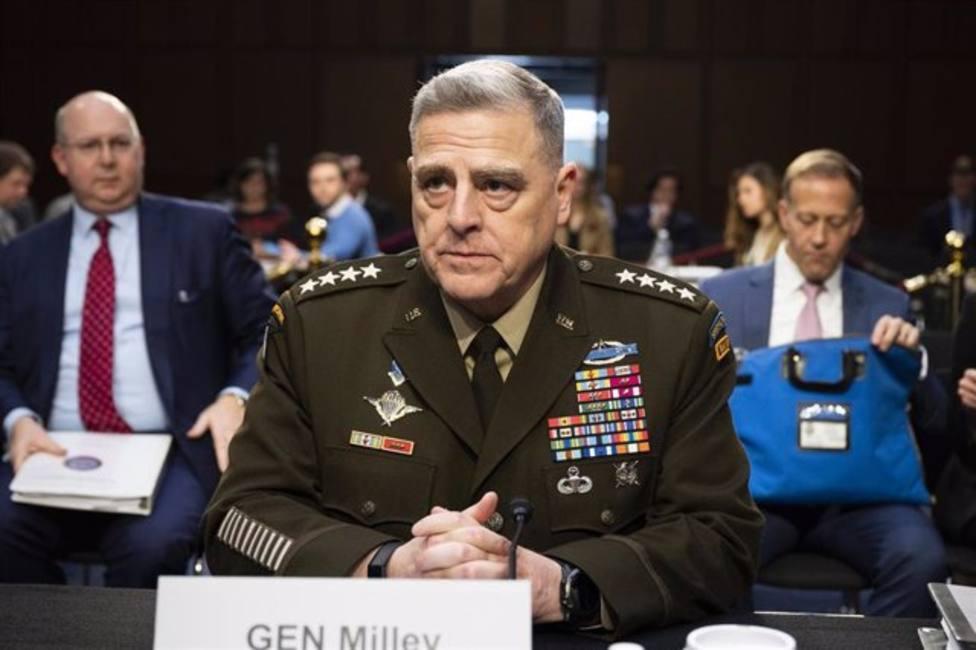 El Estado Mayor del Ejército de EEUU condena el asalto al Capitolio y reafirma su apoyo a Biden