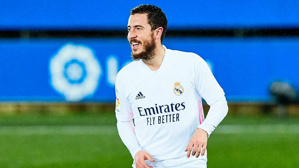 Eden Hazard, delantero del Real Madrid. CORDONPRESS