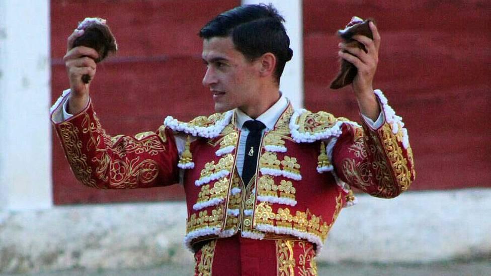 Carlos Aranda, en una imagen de archivo, uno de los triunfadores en Ossa de Montiel