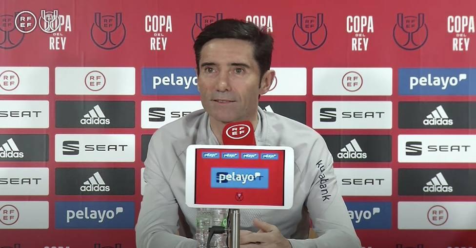 Marcelino: Después de ponerse la camiseta del Athletic, el sueño de un niño es levantar un título