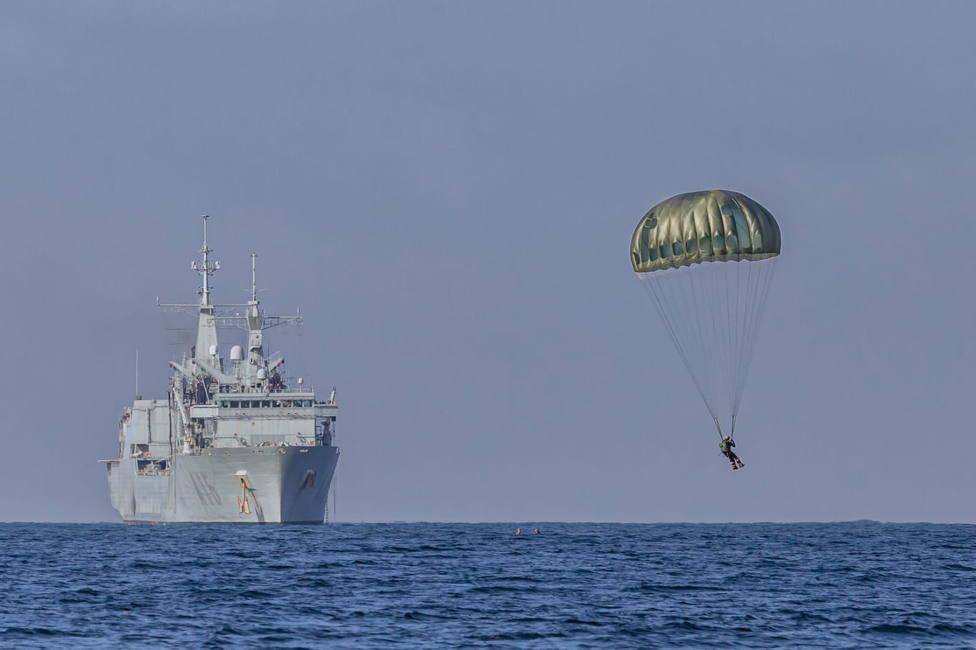 Imagen de un buque de la Fuerza de Guerra Naval Especial. FOTO: Armada