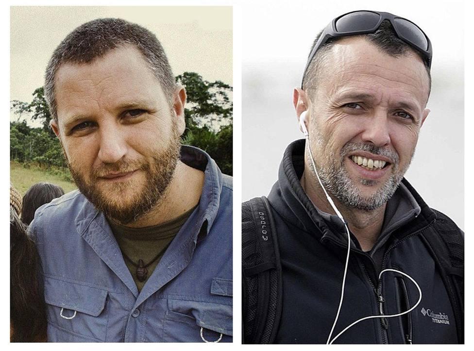David Beriain y Roberto Fraile, asesinados en Burkina Faso el pasado martes