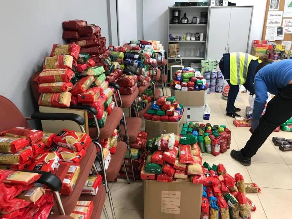 En la campaña de 2020 se recogieron 10 toneladas de alimentos