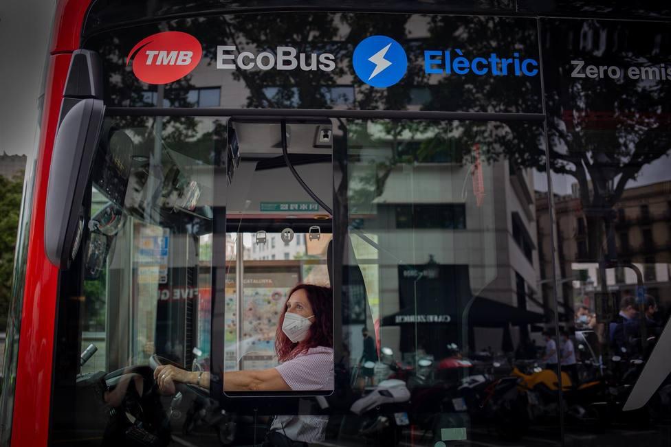 Presentación del autobús eléctrico MAN Lions City 18E en Barcelona