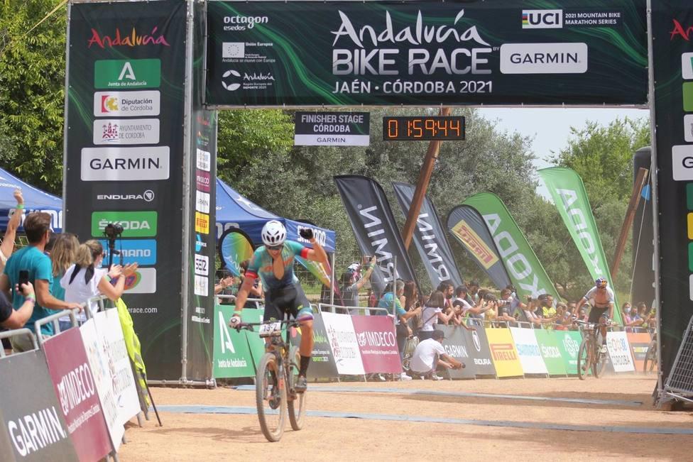 Andalucía Bike Race acaba en Córdoba con triunfo de Frey, Stiebjahn, Hovdenak y Schneider
