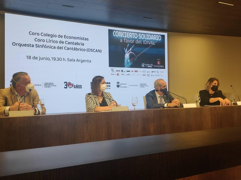 Concierto solidario del Colegio de Economistas a beneficio del IDIVAL