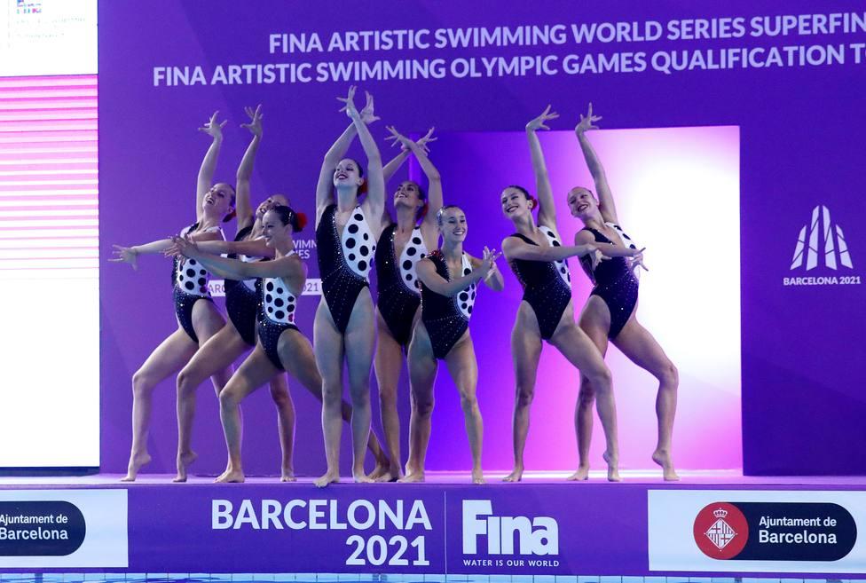 Equipo español de natación artística