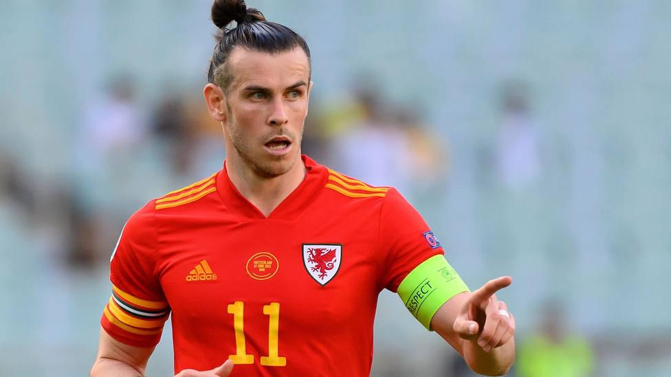 Gareth Bale, titular con la Selección de Gales en la Eurocopa. EFE