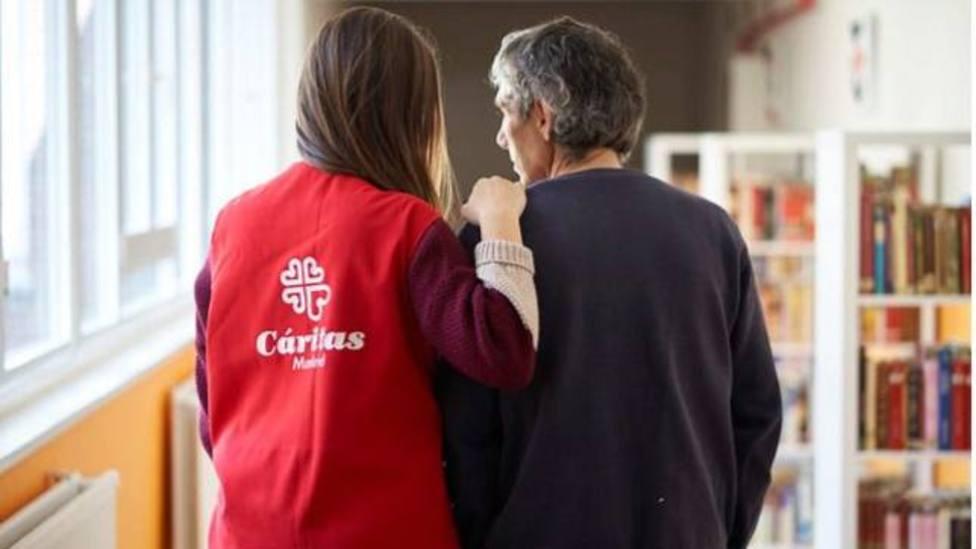 Cáritas atendió en 2020 a 2,8 millones de personas, 400.000 más que en 2019 por los efectos de la covid-19