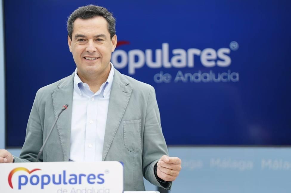 Moreno asegura que no tiene presión alguna de Casado sobre la fecha de elecciones andaluzas