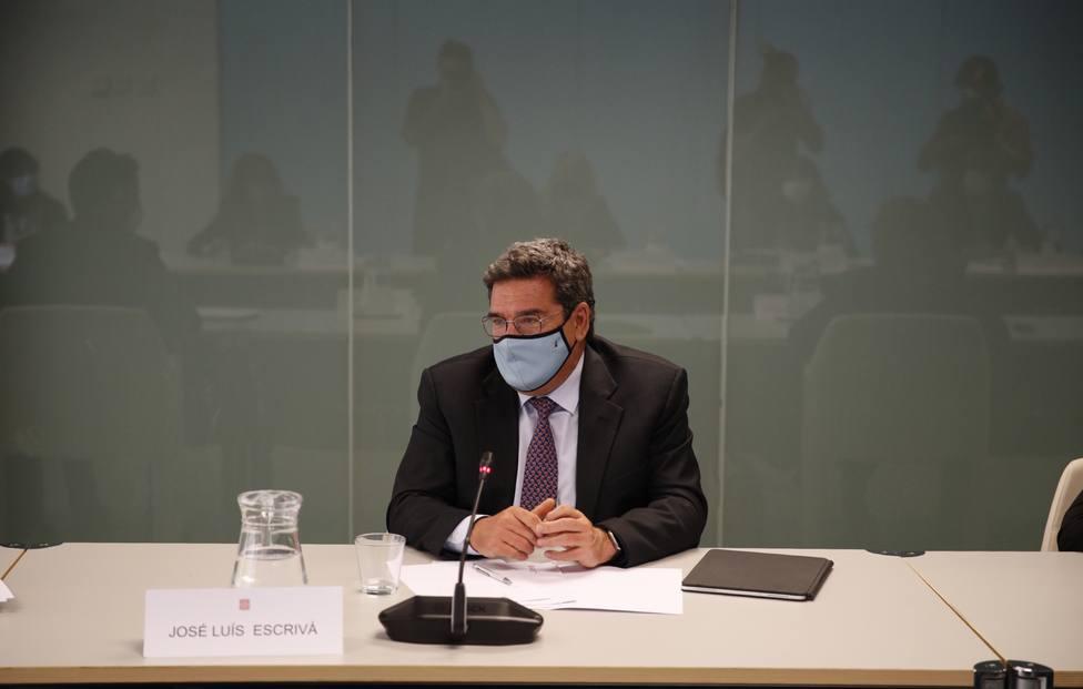 Ministro Inclusion y Migraciones José Luis Escrivá