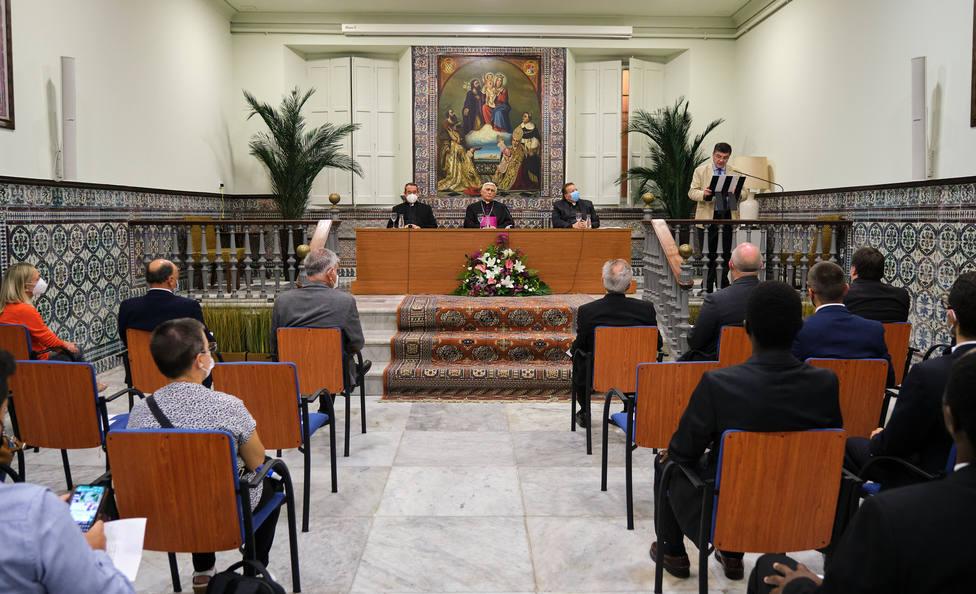 Apertura del curso del Seminario de San Bartolomé (Cádiz)
