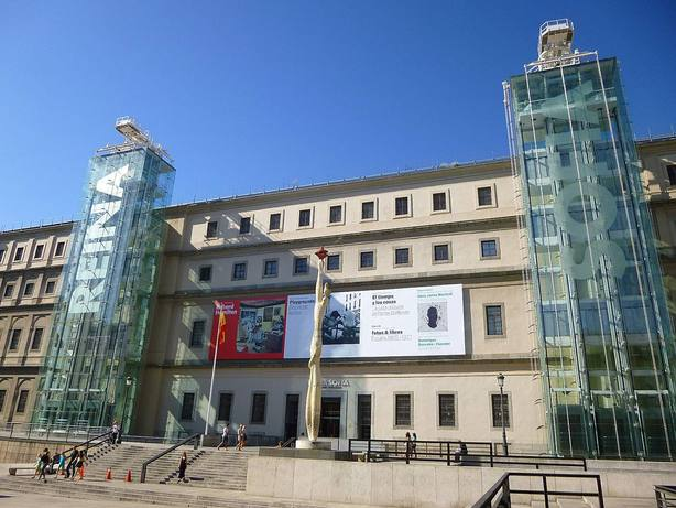 El Museo Nacional Centro de Arte Reina Sofía. Wikipedia