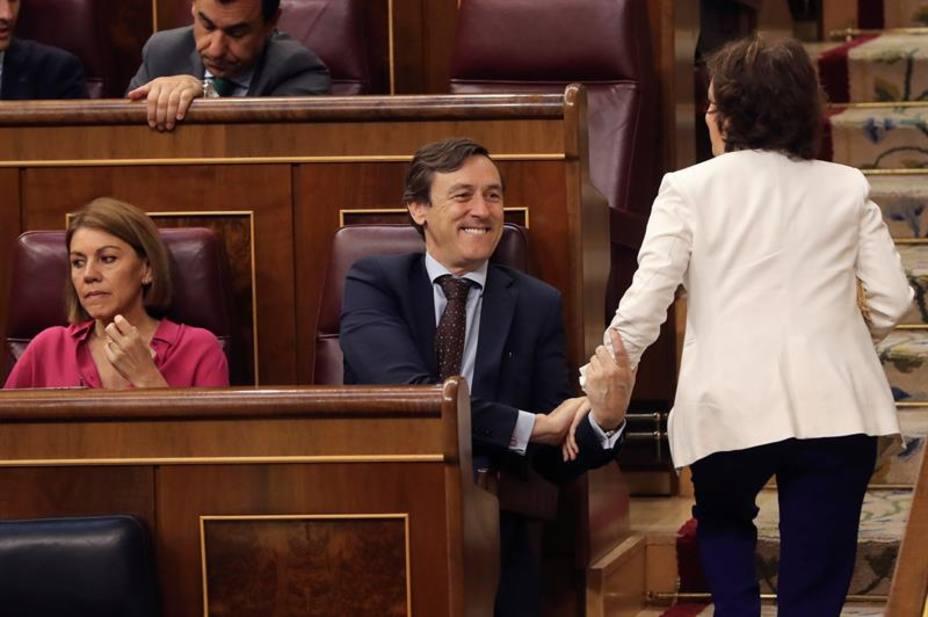 Rafael Hernando apuesta por un liderazgo femenino para presidir el nuevo PP
