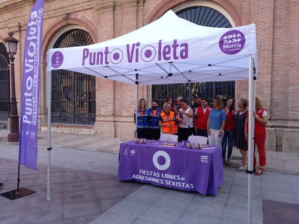 La Feria contará con cuatro puntos violetas de información, sensibilización y prevención de actitudes sexistas