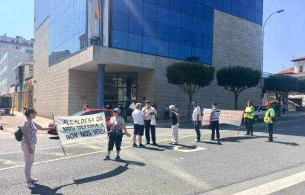 Los vecinos protagonizaron protestas durante todo el verano rechazando la propuesta de la Xunta.