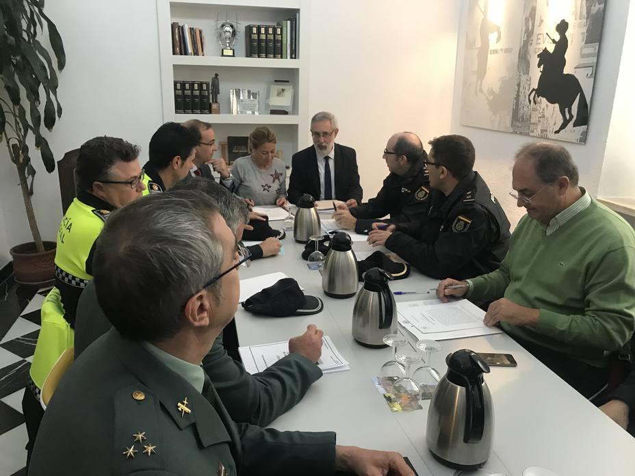 Junta Local de Seguridad en Cáceres