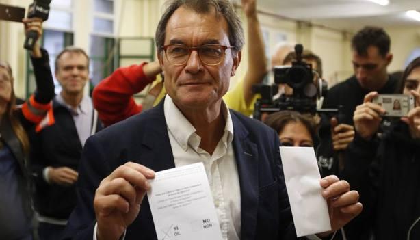 ¿Cuál es el patrimonio de Artur Mas para responder al pago de 5 millones por el 9-N?