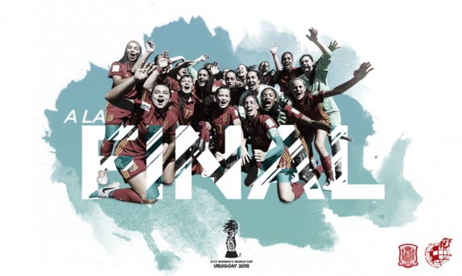 España jugará la final del Mundial sub17 femenino
