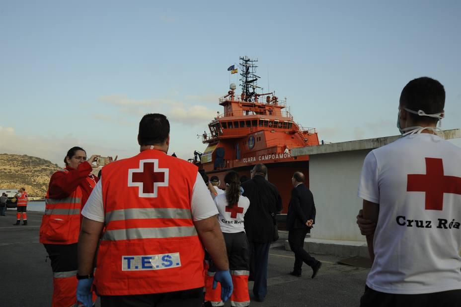 Ascienden casi a medio centenar los inmigrantes llegados en patera en las últimas horas a Murcia
