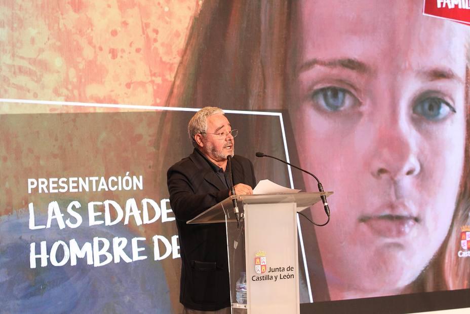 El secretario general de la Fundación Las Edades del Hombre, Gonzalo Jiménez.