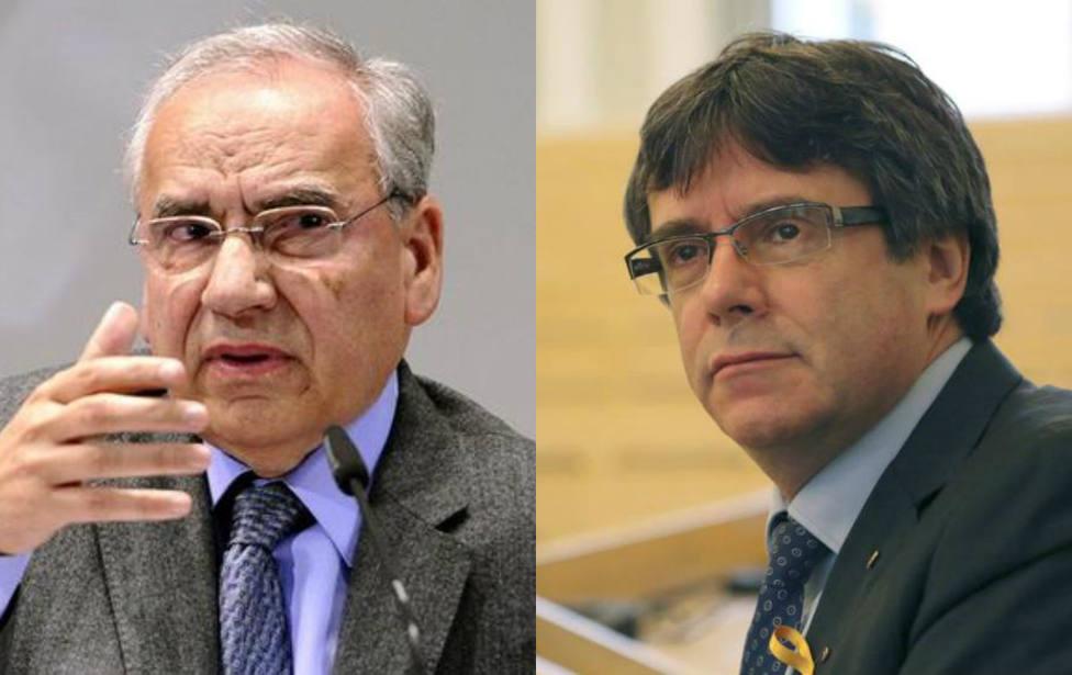"""El mensaje de Alfonso Guerra a Puigdemont y su papel en Bruselas: """"Está trastornado"""""""
