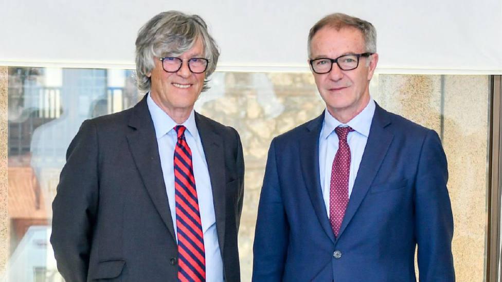 Simón Casas y José Guirao durante la reunión mantenida este jueves en Madrid