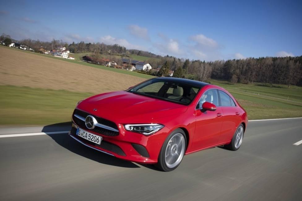 El nuevo Mercedes-Benz CLA Coupé, disponible en mayo