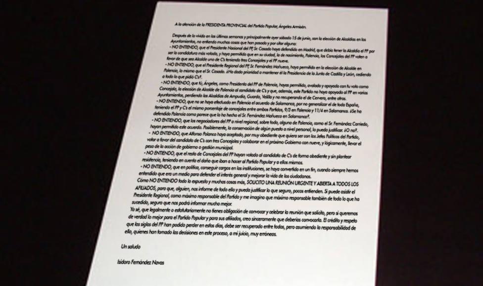 Primeras voces criíticas dentro del PP por el acuerdo con Cs en la alcaldía de Palencia