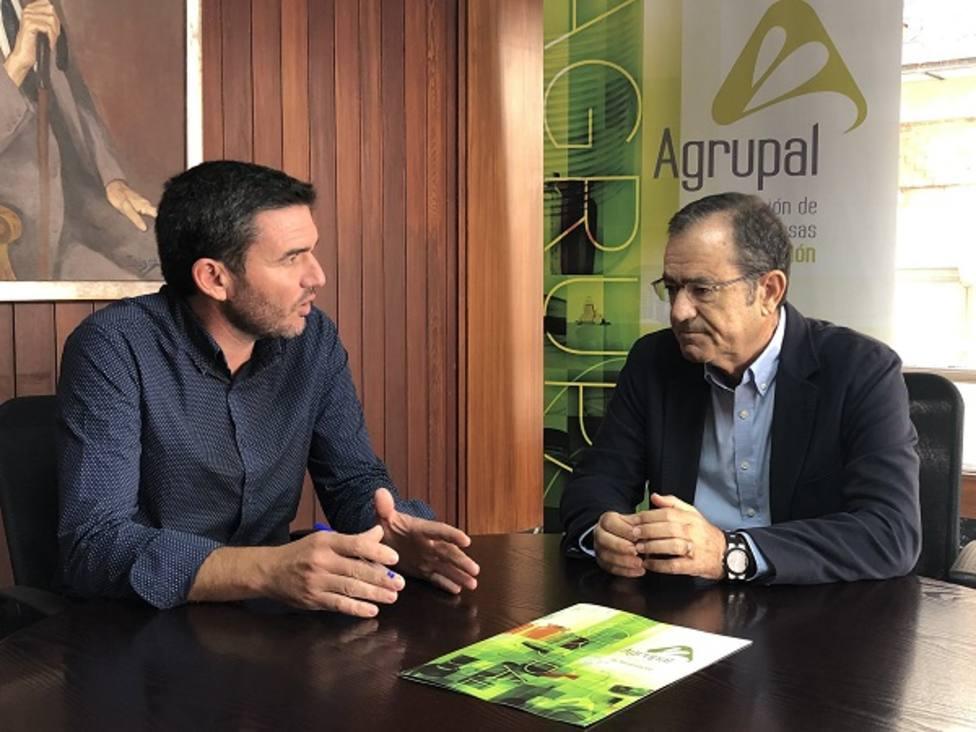 Antonio Luengo ha mantenido una reunión con Agrupal