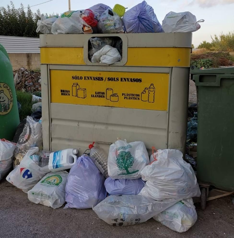 Vertedero incontrolado en Castellón de la Plana