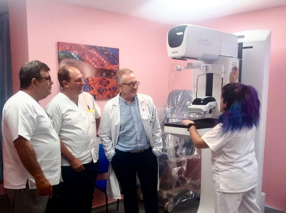 El Hospital del Rosell ya puede realizar mamografías con un nuevo mamógrafo de última generación