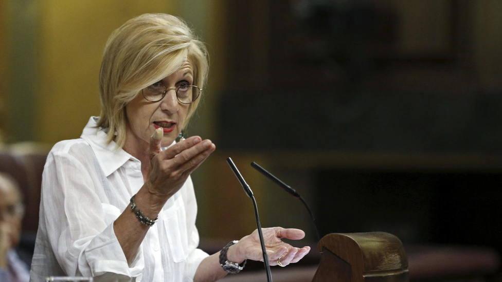 """Rosa Díez denuncia insultos sexistas a través de las redes sociales y le responden: """"Facha"""""""