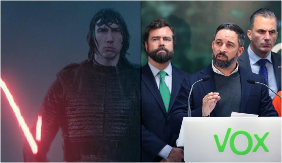 """Vox estalla contra la última película de Star Wars a días de su estreno: """"Murga feminista"""""""