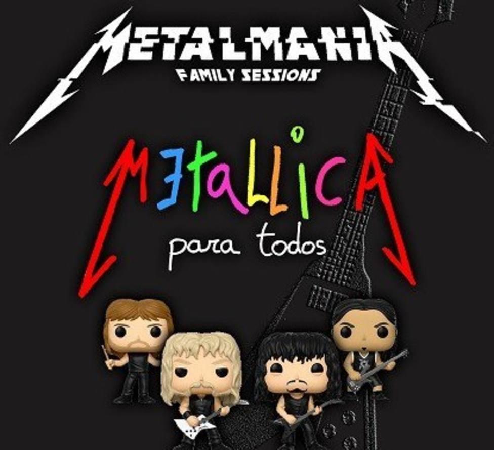 """""""Metalmanía Family Sessions"""" es un tributo a la banda Metálica pensado para todos los públicos"""