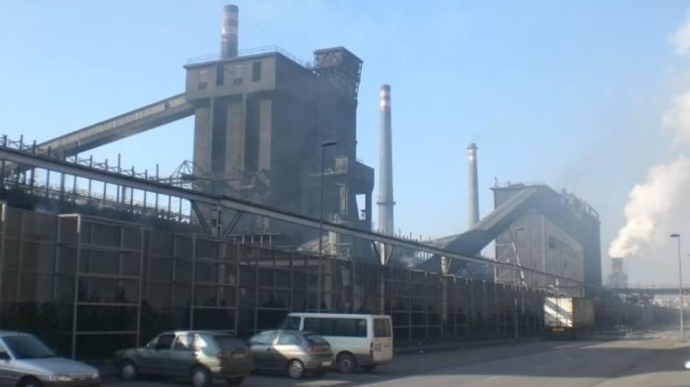 Arcelor acelera para reducir sus emisiones en Gijón
