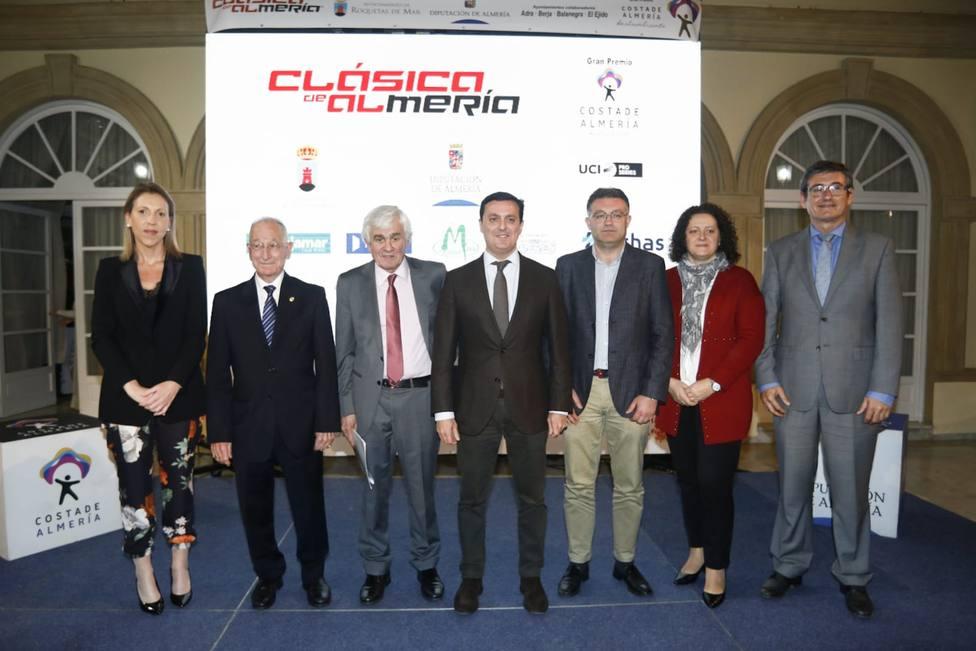 Presentación de la Clásica Ciclista de Almería