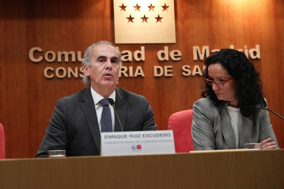 Consejero de Sanidad de Madrid confirma el segundo caso de coronavirus en esta comunidad