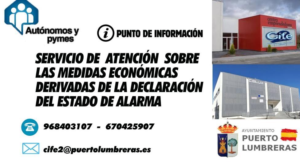 El Ayuntamiento de Puerto Lumbreras pone en marcha un servicio de atención a autónomos y pymes