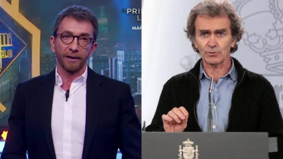 Pablo Motos describe a Fernando Simón de la manera más inesperada