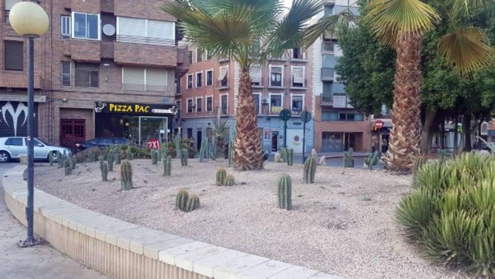 El municipio de Murcia cuenta con más de 60 variedades de cactus para una jardinería pública más eficiente