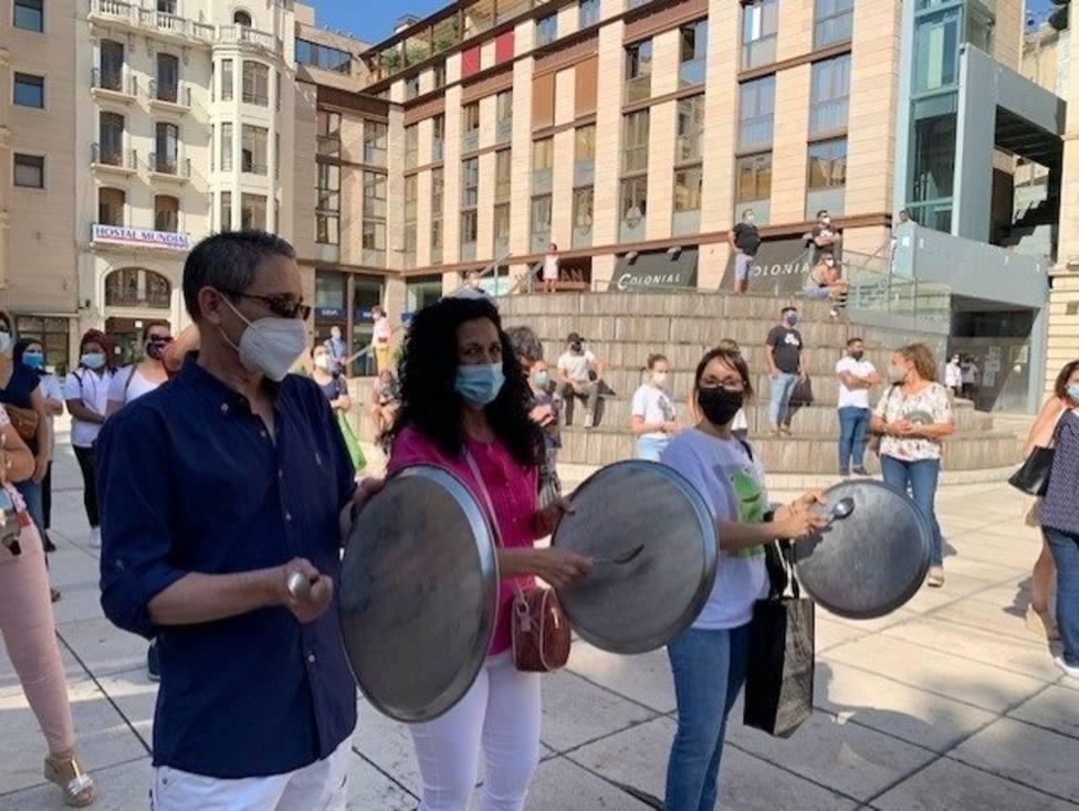 Protesta De La Hostelería De Lleida El Pasado 23 De Julio